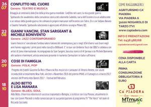 La Camporeale e Dirani in concerto il 26 aprile