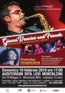 Al via la prima edizione del GIANNI VANCINI & FRIENDS_Mirandola_10 Febbraio 2019