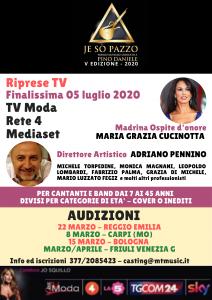 Audizioni Premio Musicale Internazionale Jo Sò Pazzo, dedicato a Pino Daniele